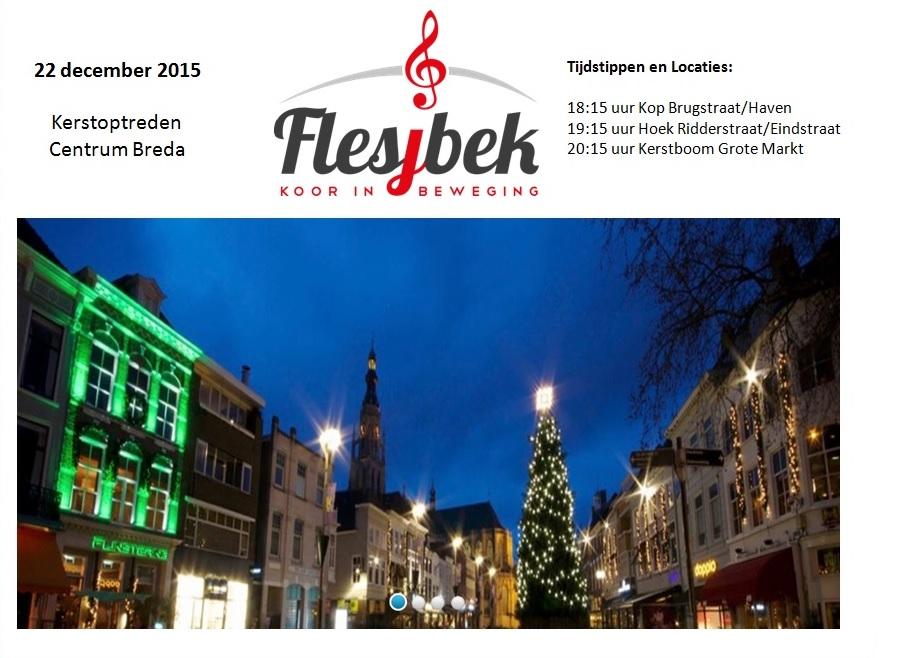 22-12-2015 Kerstoptreden Binnenstad Breda